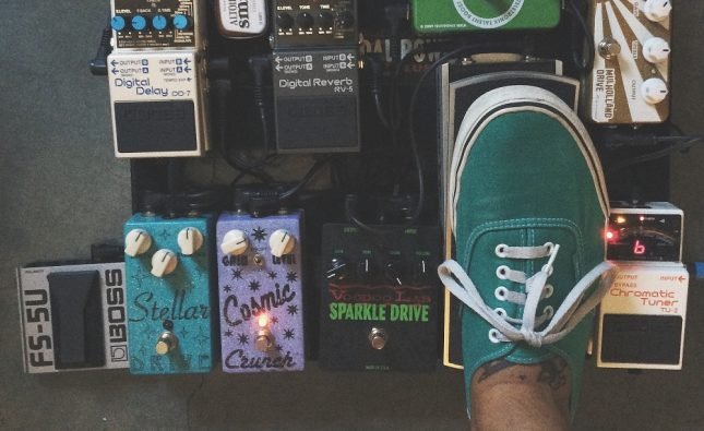 Types Of Guitar Pedals